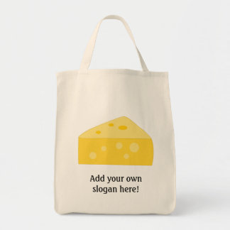 Customize this Big Cheese graphic Tote Bags