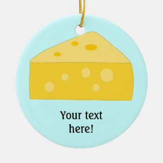Customize this Big Cheese graphic Christmas Ornament