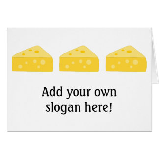 Customize this Big Cheese graphic Greeting Card