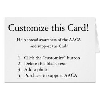 Customize this Card