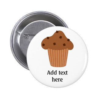 Customize this Choc Chip Muffin graphic Pins