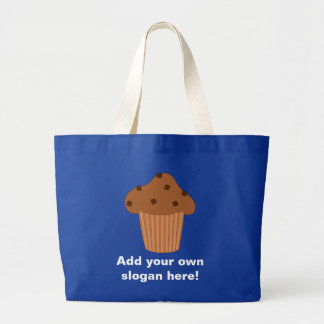 Customize this Choc Chip Muffin graphic Canvas Bags