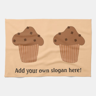Customize this Choc Chip Muffin graphic Kitchen Towel