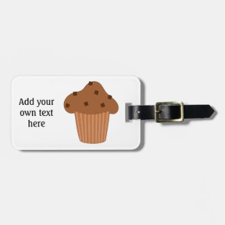 Customize this Choc Chip Muffin graphic Tags For Bags