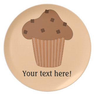 Customize this Choc Chip Muffin graphic Plate