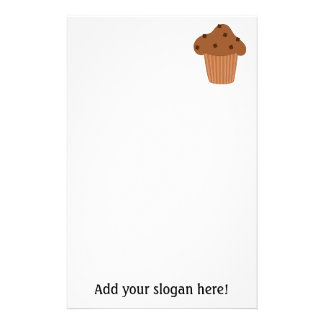 Customize this Choc Chip Muffin graphic Stationery Paper