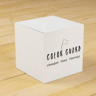 Customize This Color Guard Cheaper Than Therapy Favour Box