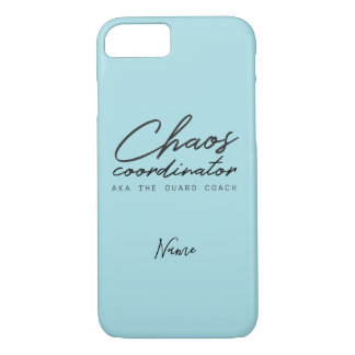 Customize This Color Guard Coach iPhone 8/7 Case