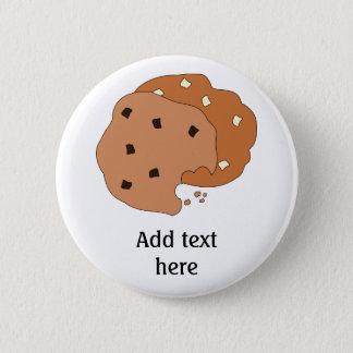Customize this Cookies graphic 6 Cm Round Badge