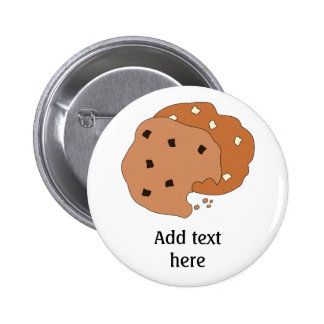 Customize this Cookies graphic 6 Cm Round Badge