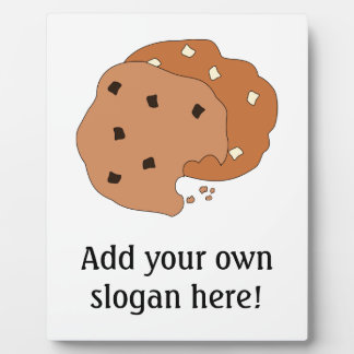 Customize this Cookies graphic Plaques