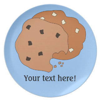 Customize this Cookies graphic Plate