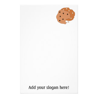 Customize this Cookies graphic Customised Stationery