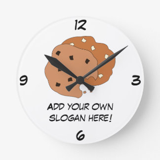 Customize this Cookies graphic Wall Clocks