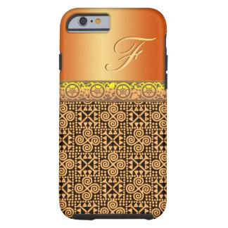 Customize this copper metallic Bianca Tough iPhone 6 Case