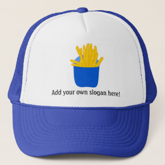 Customize this French Fries graphic Trucker Hat