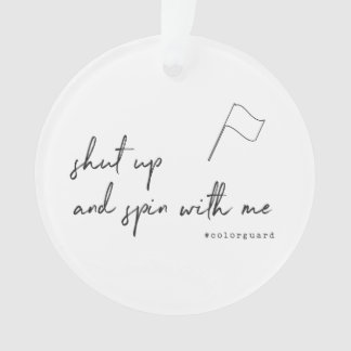 Customize This Funny Color Guard Ornament