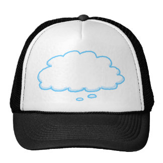 Customize This Funny Thought Bubble Cap Trucker Hat