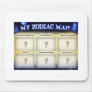 Customize this mousepad at ZodiacMap.com