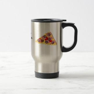 Customize this Pizza Slice graphic Travel Mug