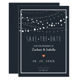 Customize this Pretty Save the Date Invitation