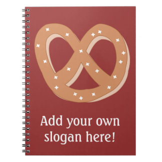 Customize this Pretzel Knot graphic Notebook