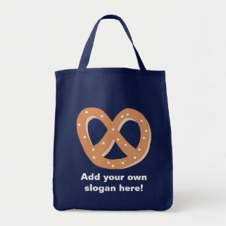 Customize this Pretzel Knot graphic Tote Bag