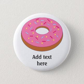 Customize this Ring Doughnut Graphic 6 Cm Round Badge