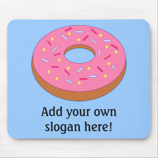 Customize this Ring Doughnut Graphic Mouse Mat