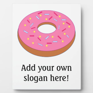 Customize this Ring Doughnut Graphic Photo Plaques