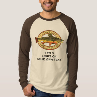 Customize Trout Fishing T-Shirt