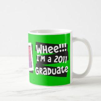 Customize Whee I m a 2011 Graduate Coffee Mugs