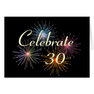 Customize with Any Year~Celebrate An Anniversary Greeting Card