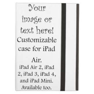 Customize with personalized pictures and text iPad air case