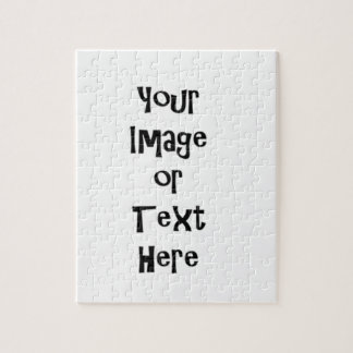 Customize with personalized pictures and text puzzles
