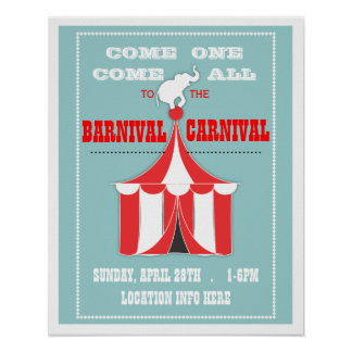 Customize Your Carnival Event Poster