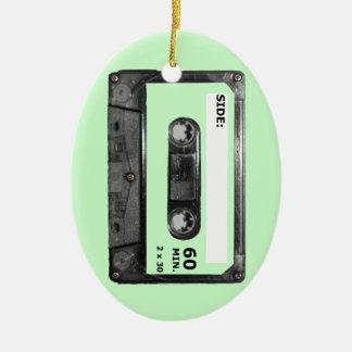 Customize Your Color Cassette Ceramic Oval Decoration