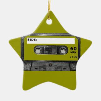 Customize Your Color Cassette Ceramic Star Decoration