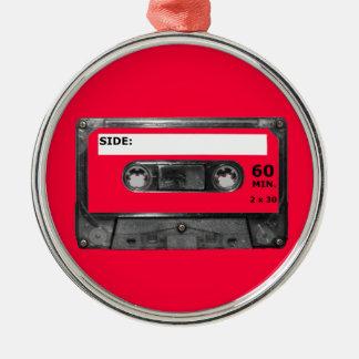 Customize Your Color Cassette Christmas Tree Ornament