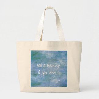 Customize Your Large Tote Bag