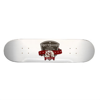 Customize Your Name Bicycle Company Logo 21.6 Cm Skateboard Deck