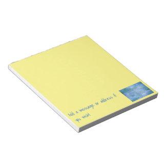 Customize Your Notepads