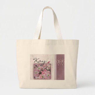 Customize your own 90th birthday large tote bag