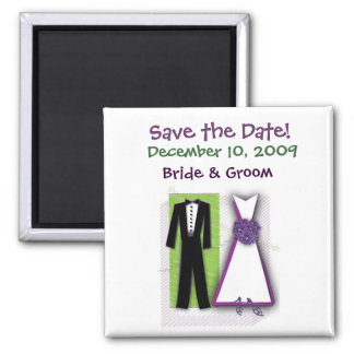 Customize your own fun save the date magnet