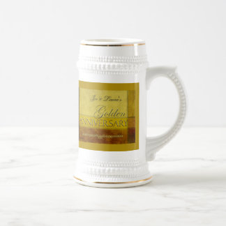 Customize your own Golden Anniversary Mugs