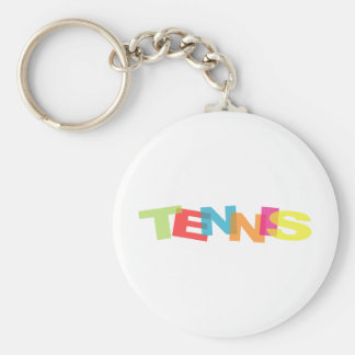 Customize yourself tennis gifts key ring