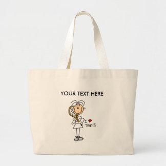 Customize Yourself Women's Tennis Tote Bag