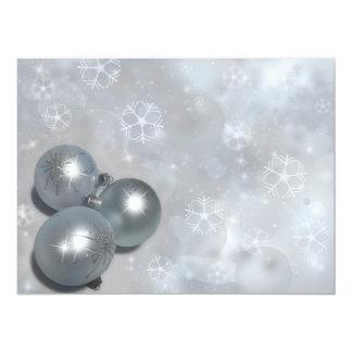 "CUSTOMIZEABLE CHRISTMAS HOLIDAY INVITATION ~ 6.5"" X 8.75"" INVITATION CARD"
