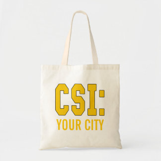 CUSTOMIZEABLE CSI Products Budget Tote Bag