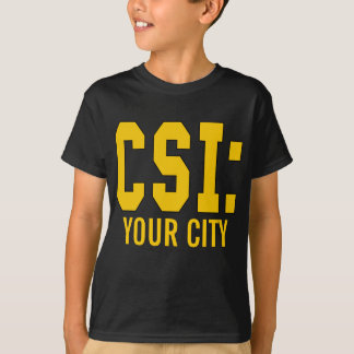 CUSTOMIZEABLE CSI Products T-Shirt